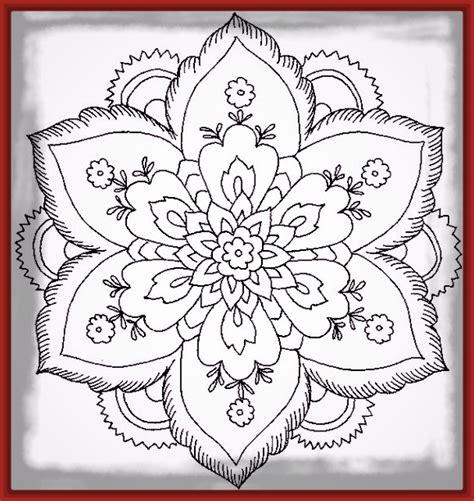imagenes de rosas y corazones para colorear dibujos para imprimir de corazones y mandalas imagenes