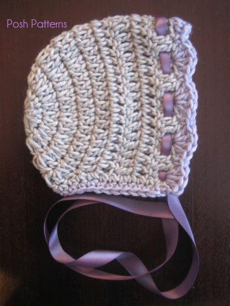 Crochet pattern vintage baby bonnet crochet hat pattern includes