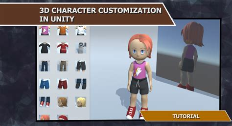 unity tutorial animation character 3d character customization in unity tutorial indie db