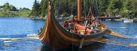 viking boats norway norwegian vikings viking history of west norway fjord