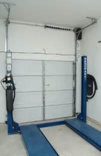 Garage Door Lifter High Lift Garage Door Conversion