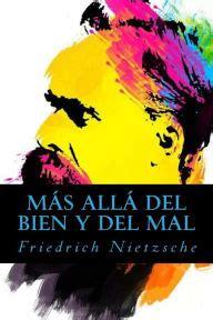 mas alla del bien 1479372692 m 225 s all 225 del bien y del mal by friedrich nietzsche paperback barnes noble 174
