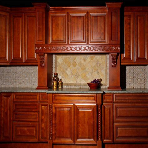 millbrook kitchen cabinets door style galleria color royal chocolate millbrook