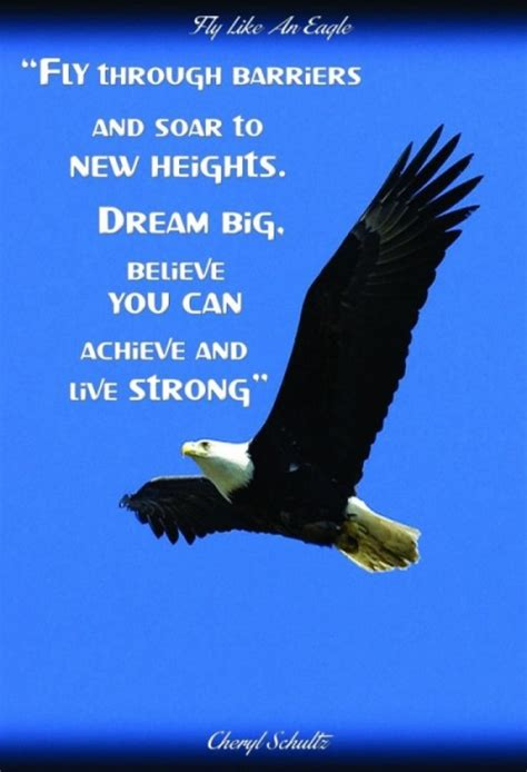 Fly As An Eagle fly like an eagle quotes quotesgram