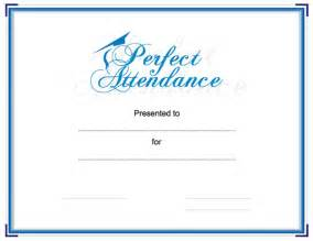 attendance certificates free templates search results for attendance template