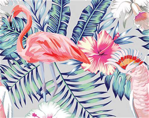 flamingo wallpaper retro flamingo wallpaper etsy