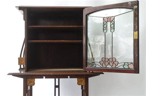 liberty and co display cabinet in mahogany for sale at 1stdibs