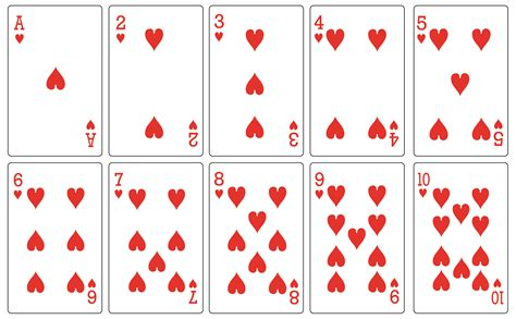 8 Best Images Of Free Printable Deck Of Cards Free
