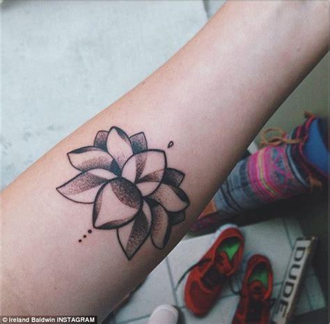 Small Lotus Tattoos Small Lotus Flower On Forearm Tattoobite