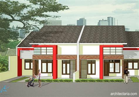 desain depan rumah com desain rumah mungil type 27 pt architectaria media cipta