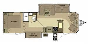 Open Range Floor Plans by 2012 Open Range Rv Mesa Ridge Series M 285f Floorplan