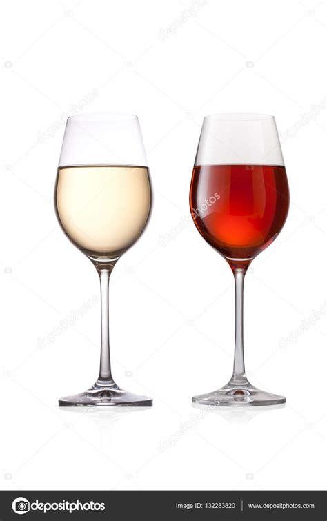 Bicchieri Da Bianco E Rosso Bicchiere Di Bianco E Rosso Foto Stock 169 Artzona