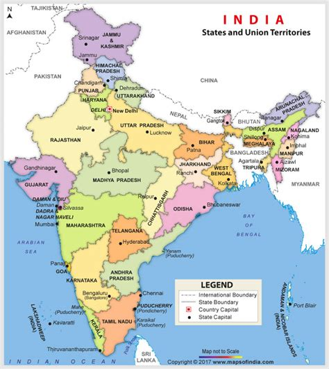 Find By Name In India India Map Junglekey In Image