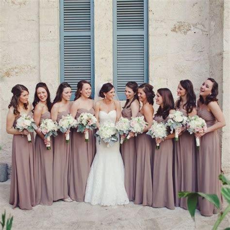 bridesmaid colors wedding ideas mad about mauve modwedding
