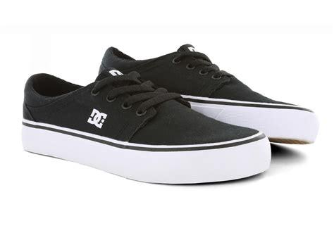 Dc Shoes Black womens dc shoes trase tx canvas black white
