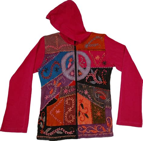 Dress Monza Pink monza peace floral hooded jacket scarf shawls jackets