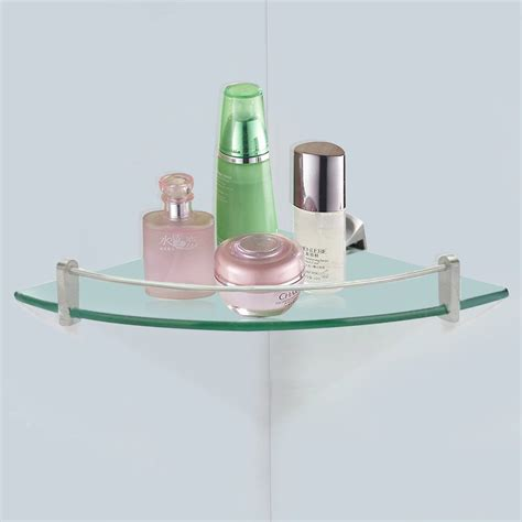 glass shelves for bathroom 7 best corner shelves for bathroom