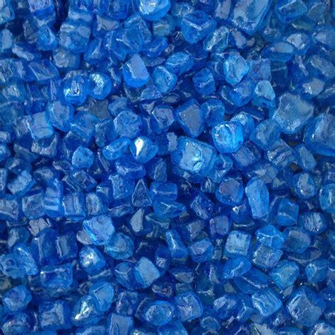 blue colored rocks aquarium decoration gravel blue color pebbles fish