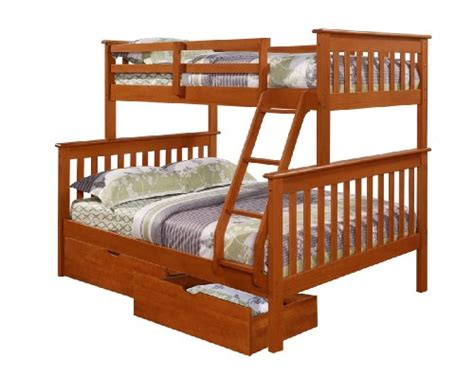 Best Deal On Bunk Beds Bunk Bed Mission Style In Espresso With Drawers Best Deals Niederros