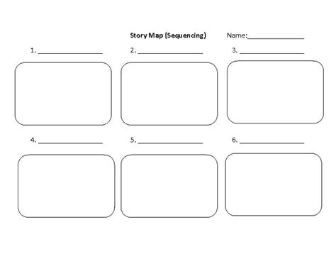 story map graphic organizer templates pinterest graphic