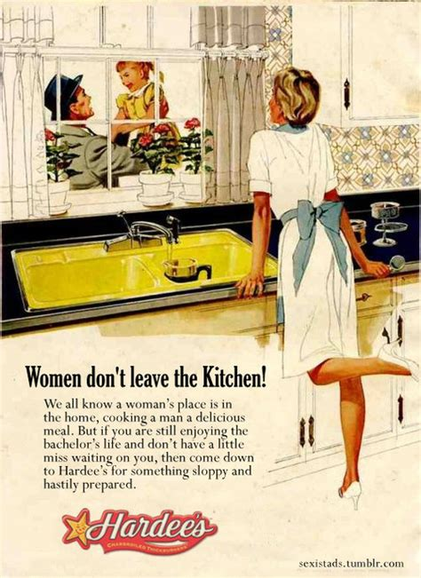 Kitchen Sexist sexist ad dont leave the kitchen creative ads and