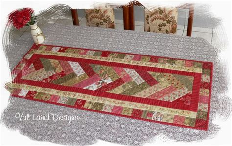 free pattern quilted table runner val laird designs journey of a stitcher free block of