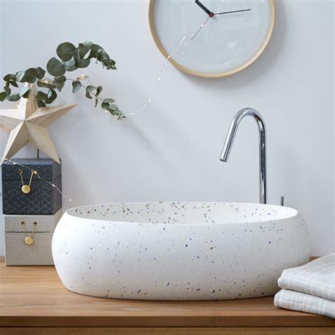 lavabo da terrazzo lavabo in battuto di terrazzo confetti 55 prezzo