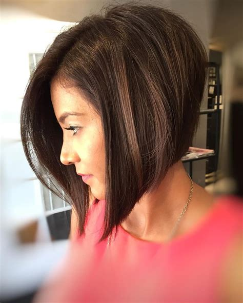 short a line bob brunette lots of volume gypsy 17 best ideas about angled bobs on pinterest blonde bobs