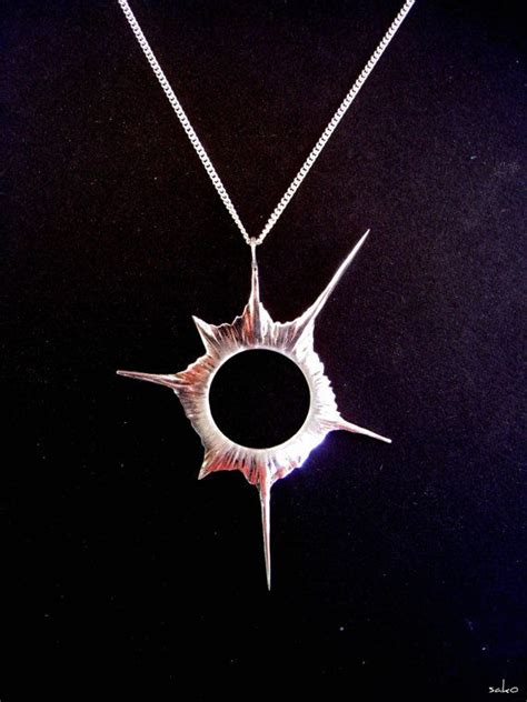 solar eclipse jewelry charm necklace anniversary gift in