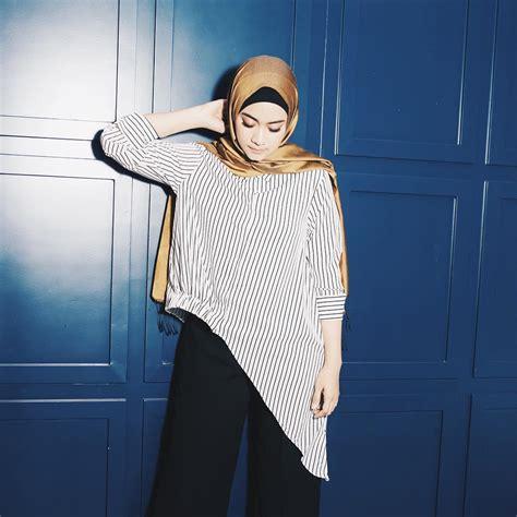 Celana Kulot Layla Model Sederhana Terlaris Acara Resmi 13 style elegan seleb berhijab contekan cewek bertubuh mungil