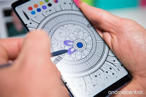 Note 9 Drawing App by How To Use The Coloring Feature On The Galaxy Note 8