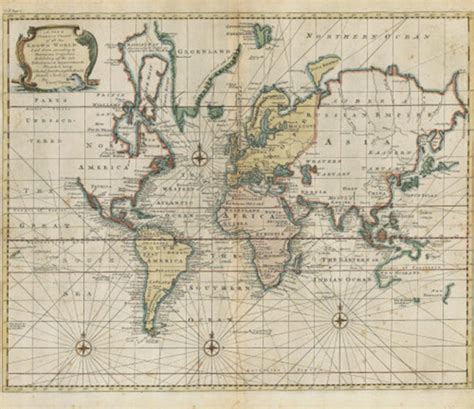 historical maps historic world map 1744