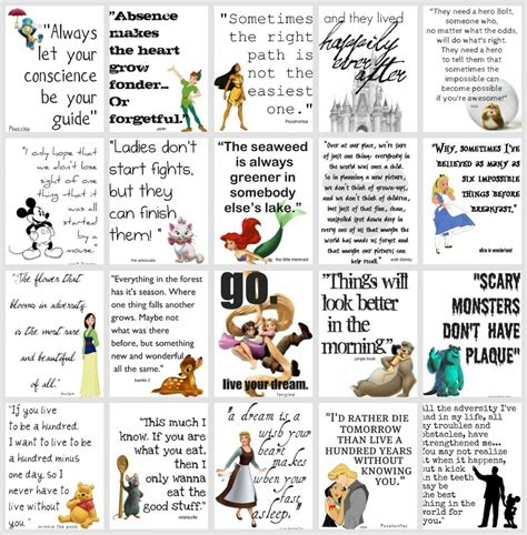 film disney quotes disney movie quotes quotesgram