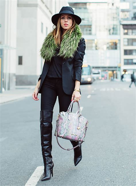 style ideas six winter outfit ideas using pantone s greenery color trend