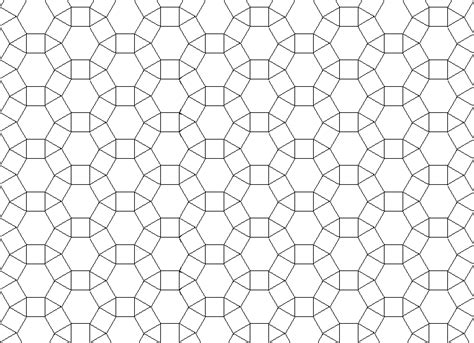 triangle pattern grid shapes that tessellate hexagons squares and triangles