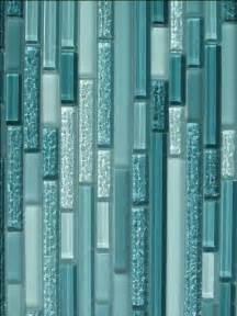 aqua horizontal mosaic glass tile 11 sq ft kitchen