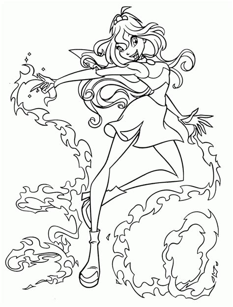 coloring pages for winx club free printable winx club coloring pages for