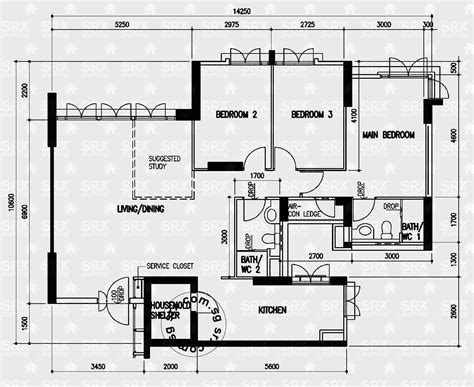 hdb floor plan floor plans for sembawang drive hdb details srx property