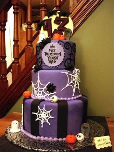 everything knitticrafty: A Spooky Wedding Cake