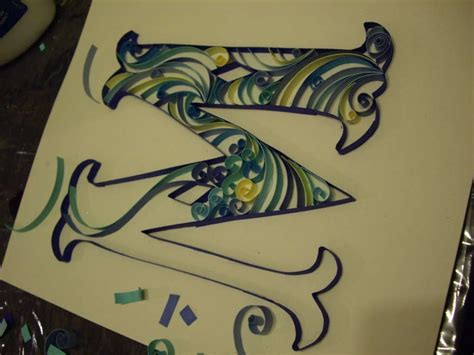 tutorial on quilling letters another tutorial for quilled letters quilling pinterest
