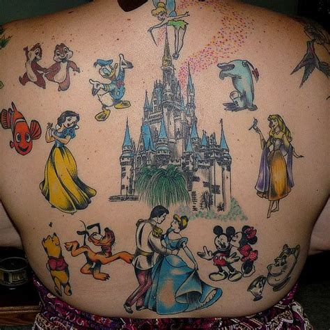 tattoo design disney tattoos