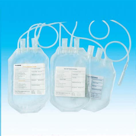 Sale Jms Blood Bag Single 350ml rolled blood collection bags from china manufacturer