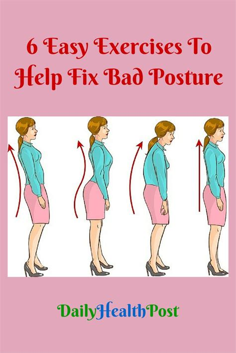 7 Where Youll Get A Lot Of Exercise by 25 Best Ideas About Posture Fix On Exercises