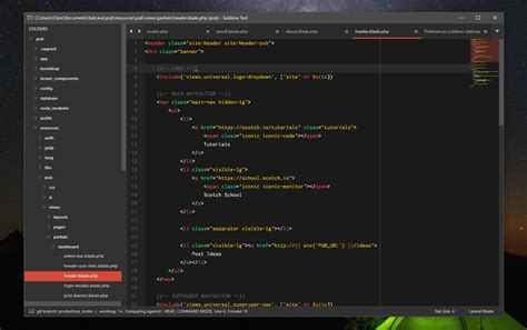 sublime text 3 dreamweaver theme the best sublime text 3 themes of 2014 scotch