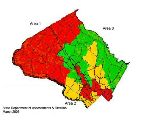 Montgomery County Maryland Property Tax Records Montgomery County Reassessment Areas