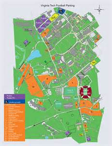 Virginia Tech Map by Hokietickets Com Maps Amp Seating Charts