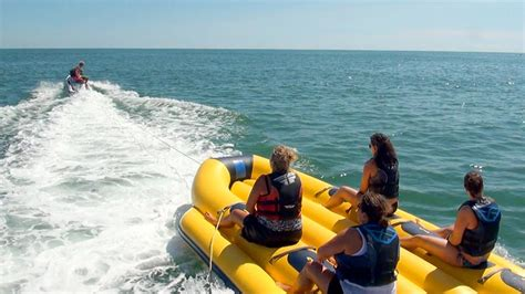 banana boat rides at myrtle beach sc banana boat rides ocean watersports myrtle beach sc