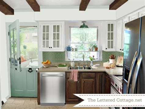 cottage kitchen colors cottage kitchen my presto the lettered cottage