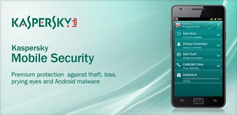 kaspersky for android track android phone updated 2018