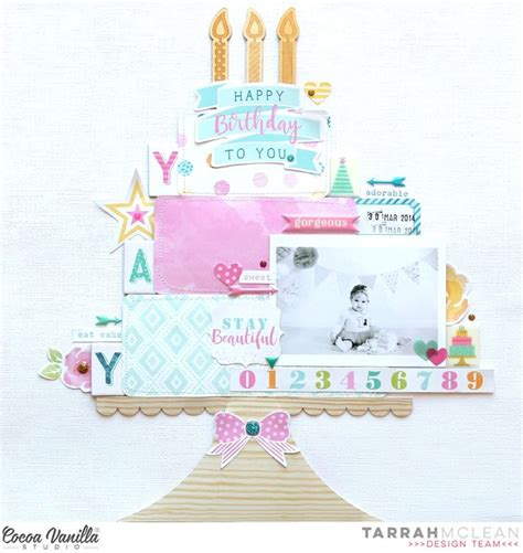 78 best ideas about birthday scrapbook on